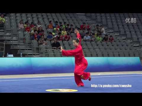 2016 China wushu championship(female) TaiJiQuan, Yu mengmeng 1st place