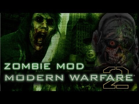 ¡ZOMBIES EN MODERN WARFARE 2! | Call of Duty Mod