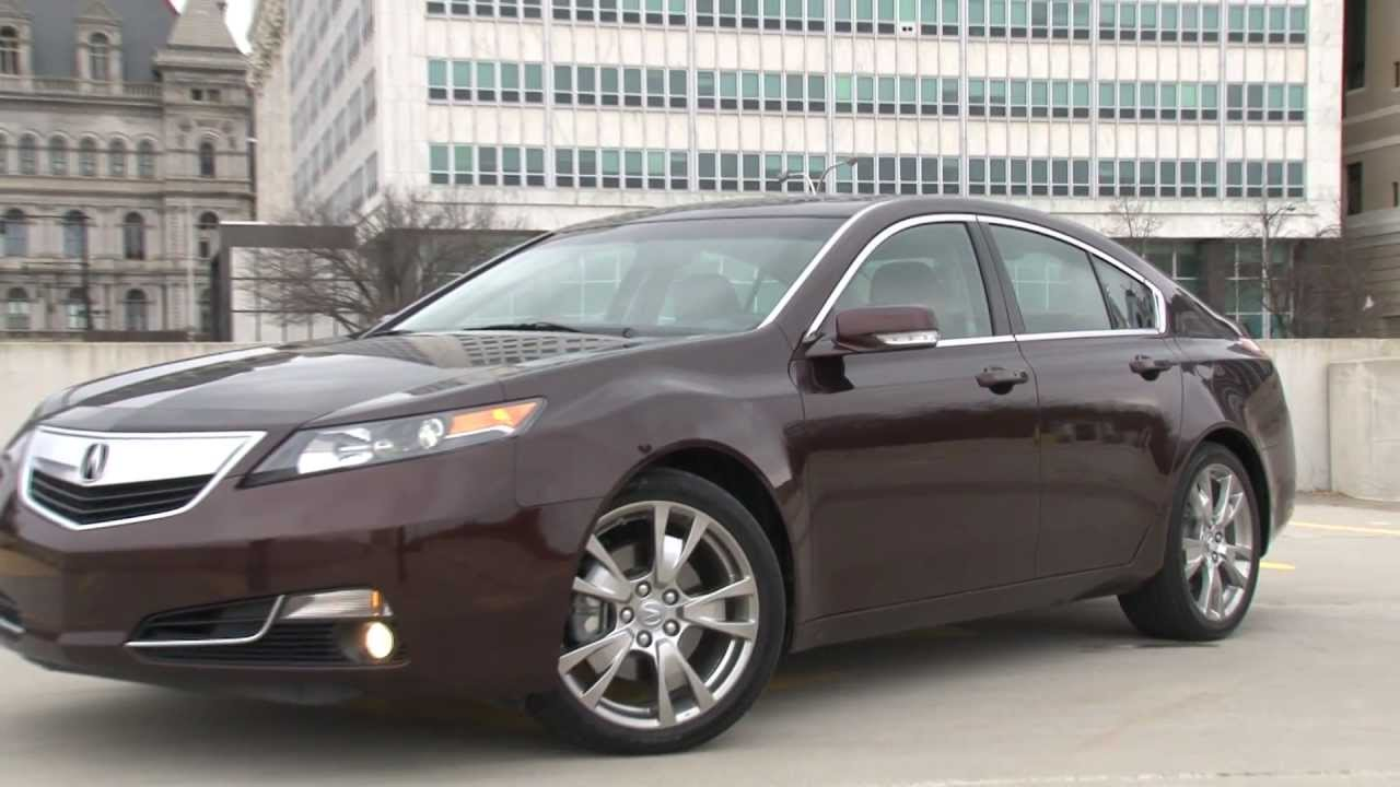 Acura Tl Sh Awd Review >> 2012 Acura TL - Drive Time Review with Steve Hammes - YouTube