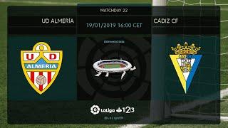 UD Almera Cdiz CF MD22