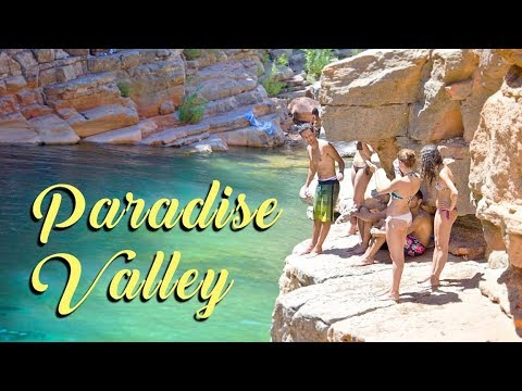 Cliff Jumping - Paradise Valley, MOROCCO -