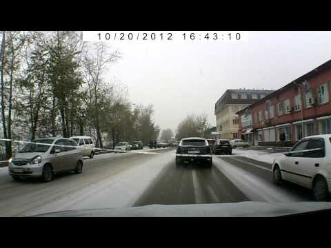 Зима пришла в Красноярск