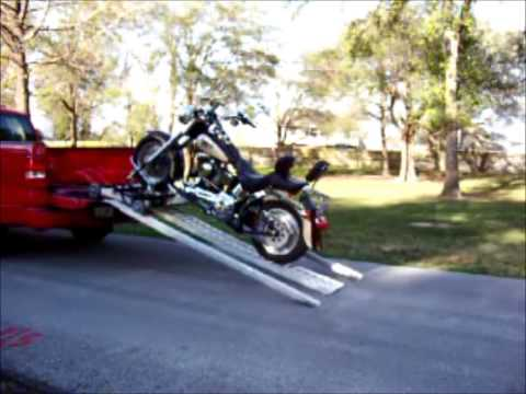 Fast Master Motorcycle Truck Bed Pickup Loader