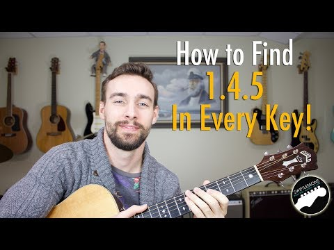 How to Find a 1.4.5 in Every Key on the Guitar - Easy Music Theory Lesson