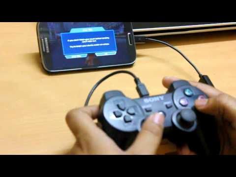 How to use PS3 Controller to play games on Samsung Galaxy S4