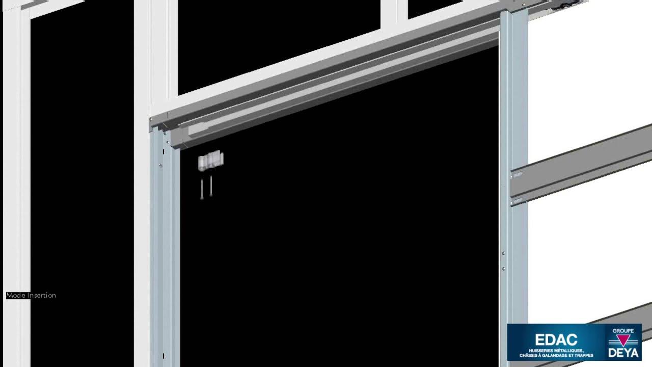 Edac montage de la porte de l 39 habillage de finition for L encadrure de la porte