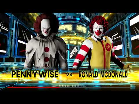 Pennywise vs. Ronald McDonald - Battle Of the Clowns