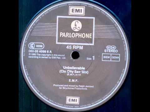 Emf - Unbelievable (the Cin City Sex Mix) Hq Audio video