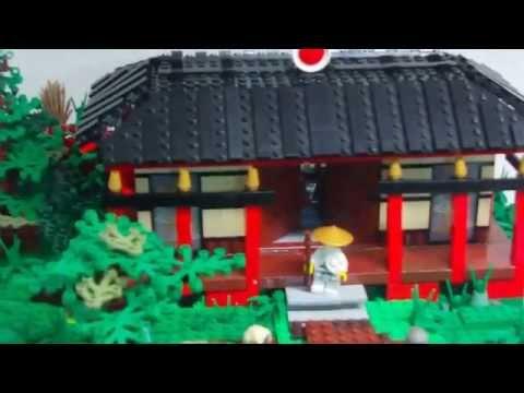 LEGO  Ninjago: Der verschollene Tempel von Chens Insel MOC 2015 (German / Deutsch)