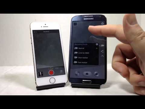 Apple iPhone 5S vs. Samsung Galaxy S4 Full Comparison Review AT&T