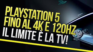 PS5 supporterà gameplay a 4K 120 fps, ma su quali televisori?