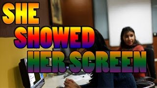 Scammer Shows Me Her Screen By Mistake !!!!!!!!