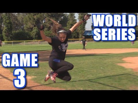 WORLD SERIES GAME 3! | On-Season Softball Series