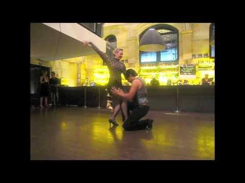 Juan and Pascale - BACHATA MODERNA SHOW - PumpHouse Sydney