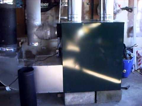 HotBlast Wood and Coal Hot Air Furnace