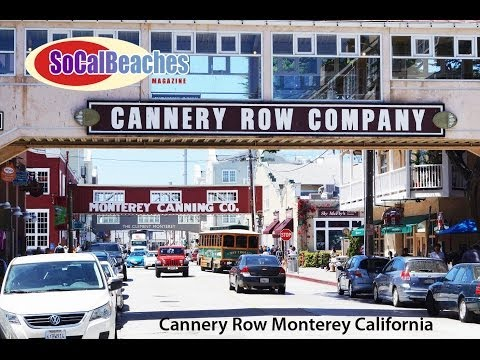 Cannery Row Monterey California