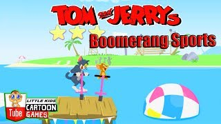 Fun Games. Tom and Jerry - Boomerang Sports. Tom and Jerry 2017 Games. Baby Games #LITTLEKIDS