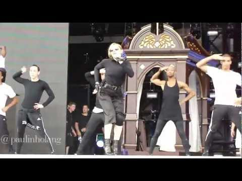 Mdna Tour - Girl Gone Wild Rehearsal (december 4 - São Paulo) video