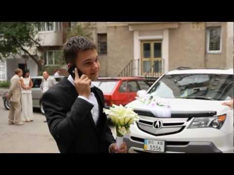Весілля Назара та Олі, р-н Братіслава, ч.1