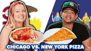 Meal Swap: Chicago Vs. New York Pizza