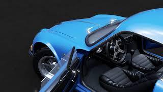 ~ Renault Alpine A110 1600S ~ The fine Art of Forza Motorsport 7