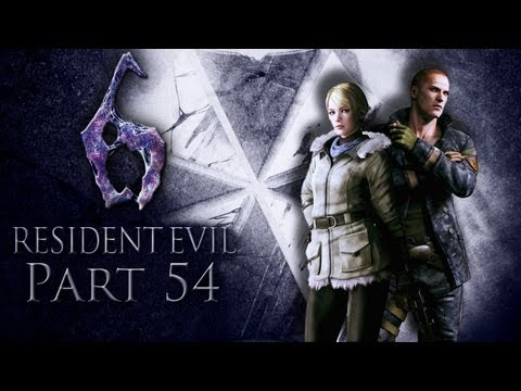 Let's Play Together Resident Evil 6 (German/HD/Blind) Part 54 - Mutanten sauer machen