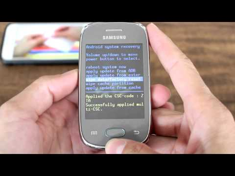 Como Formatar Samsung GALAXY POCKET Neo S5310 e S5312    Hard Reset. Desbloquear. G-Tech