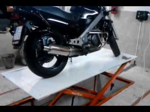 Home made. Motorcycle Lift