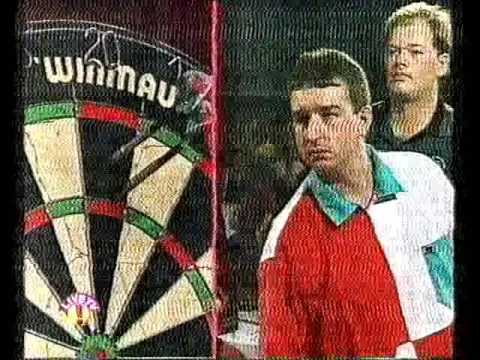 Darts Winmau World Masters 1995 Semi Final van Barneveld vs Burnett