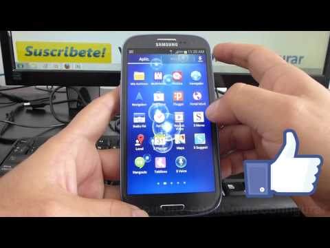 como borrar aplicaciones de mi android facil Samsung Galaxy S3 español