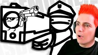 ASDF Movie - HUMOR ABSURDO   Video Reaccion