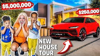 SURPRISING MY FAMILY WITH A NEW HOUSE & LAMBORGHINI URUS 😍