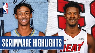 GRIZZLIES at HEAT | SCRIMMAGE HIGHLIGHTS | July 28, 2020
