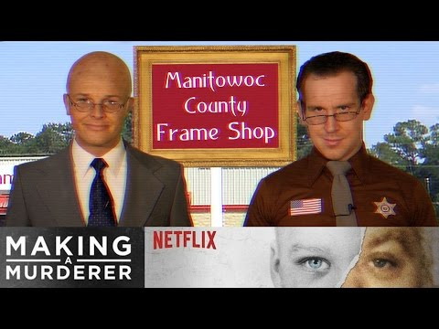 Manitowoc County Frame Shop (Making a Murderer Parody)