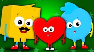 My Daddy Tells Me | Nursery Rhymes Songs For Kids | Baby Song | Children Rhyme By Baby Shapes