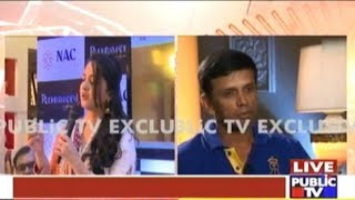 Actress Anushka Shetty Revealed That She Had Fell In Love With Rahul Dravid