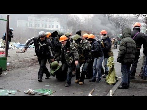 Ukraine death toll rises as violence rocks Kiev