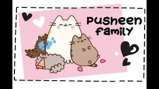 Facts about Pusheen Family & Friends 🐱