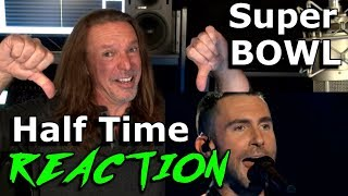 Maroon 5's Superbowl Halftime Show - Reaction - Adam Levine