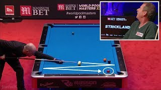 TOP 15 BEST SHOTS! World Pool Masters 2018 (9-ball Pool)