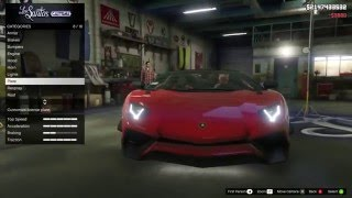 download lagu Gta V Mods #3 Lamborghini Aventador Roadster Sv Mod gratis