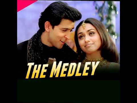 The medley song. Full audio  ( mujhse dosti karoge )