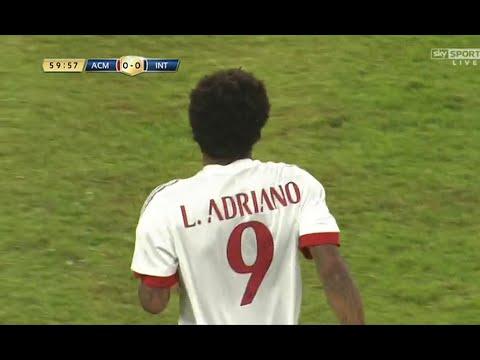 First Match Luiz Adriano   Milan - Inter 25/07/15   Первый матч Луиса Адриано за Милан