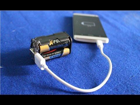 Как сделать зарядку для смартфона 361