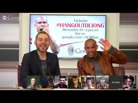 AC Milan | Hangout con Nigel De Jong (19/12/2013) #hangoutDeJong