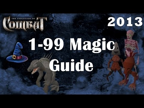 1-99 Magic Guide   2013 Eoc Combat   Fastest Mage Exp Training Lvl Runescape by Idk Whats Rc