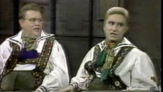 John Candy & Eugene Levy (SCTV) @ David Letterman, Part 2 of 2