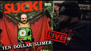 Ten Dollar Slimer Live - Star Wars, Ghostbusters, Horror and More!!