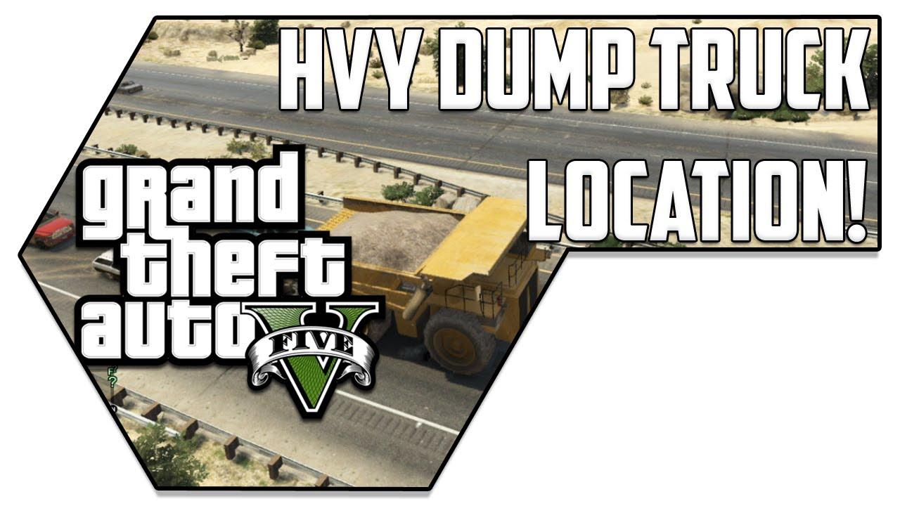 Hvy Dump Location Gta 5 Hvy Dump Truck Location Gta