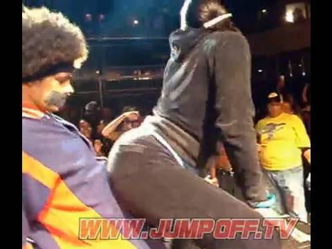 WTF Drunk Girl Booty Shaker Impersonates a Cat in Dancehall Clash?